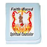 Faith Based Counselor Infant Blanket
