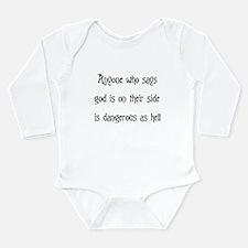 God On Their Side Long Sleeve Infant Bodysuit