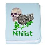 Nihilist Skull Infant Blanket