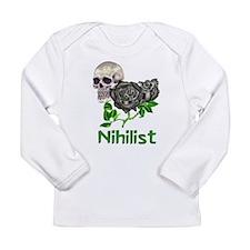 Nihilist Skull Long Sleeve Infant T-Shirt