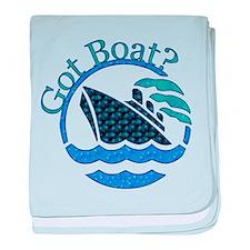 Got Boat? Infant Blanket
