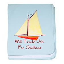 Trade Job For Sailboat Infant Blanket