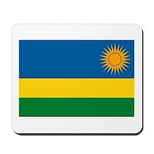 Rwanda Flag Mousepad