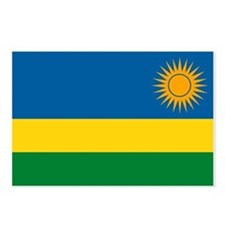 Rwanda Flag Postcards (Package of 8)