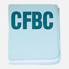 CFBC Blue Logo Infant Blanket