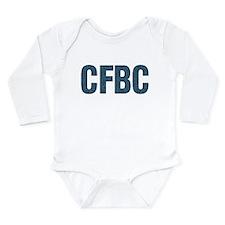 CFBC Blue Logo Long Sleeve Infant Bodysuit