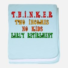 Child-Free Thinker Infant Blanket