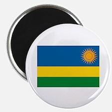 """Rwanda Flag 2.25"""" Magnet (10 pack)"""