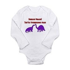 Overbreeding Dinosaurs Long Sleeve Infant Bodysuit