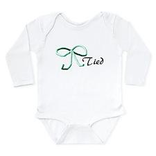 Tubes Tied Long Sleeve Infant Bodysuit