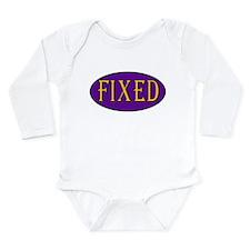 Fixed Long Sleeve Infant Bodysuit