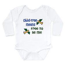 Child-Free Me Long Sleeve Infant Bodysuit