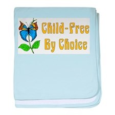 Child-Free By Choice Infant Blanket