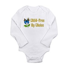 Child-Free By Choice Long Sleeve Infant Bodysuit