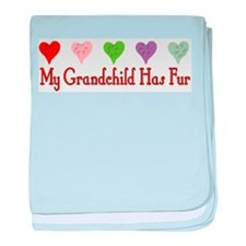 Furry Grandchild Infant Blanket