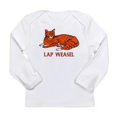 Lap Weasel Long Sleeve Infant T-Shirt