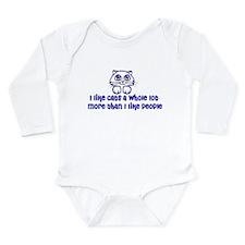 Cat Lover Long Sleeve Infant Bodysuit