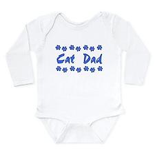 Cat Dad Long Sleeve Infant Bodysuit