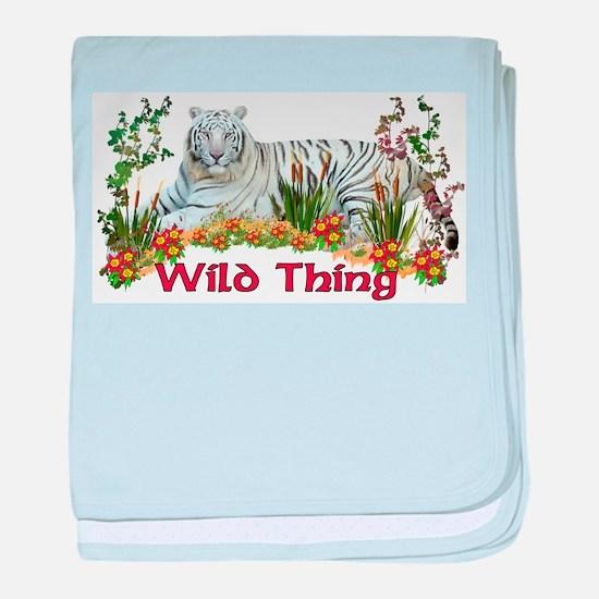 Wild Thing Infant Blanket