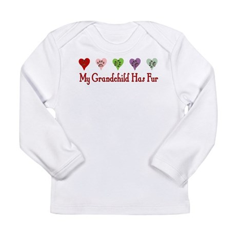 Furry Grandchild Long Sleeve Infant T-Shirt