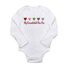 Furry Grandchild Long Sleeve Infant Bodysuit