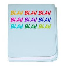 Blah Blah Blah Infant Blanket
