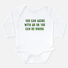Always Right Long Sleeve Infant Bodysuit