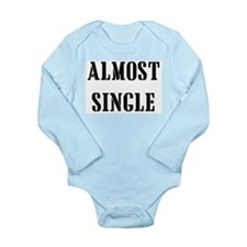 Almost Single Onesie Romper Suit
