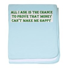 Money and Happiness Infant Blanket