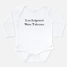 Tolerance Long Sleeve Infant Bodysuit