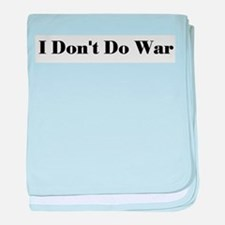 No War Infant Blanket
