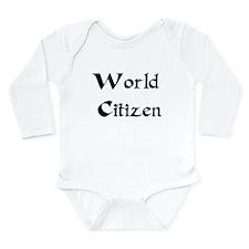World Citizen Onesie Romper Suit
