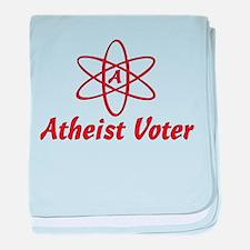 Atheist Voter Infant Blanket