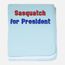 Sasquatch For President Infant Blanket