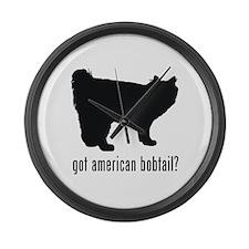 American Bobtail Large Wall Clock