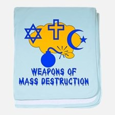 Religion Mass Destruction Infant Blanket