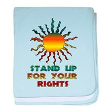 Stand Up For Your Rights Infant Blanket