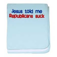 Anti-Republican Infant Blanket