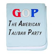 GOP American Taliban Infant Blanket