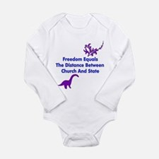 Separation of Church and Stat Long Sleeve Infant B