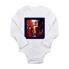 Victoria, BC Street Long Sleeve Infant Bodysuit