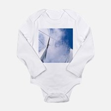 Rigging and Clouds Long Sleeve Infant Bodysuit