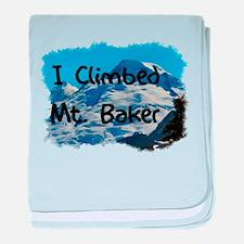 I Climbed Mt. Baker Infant Blanket