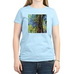 TOWERING REDWOODS Women's Pink T-Shirt