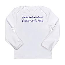 Beauty Long Sleeve Infant T-Shirt