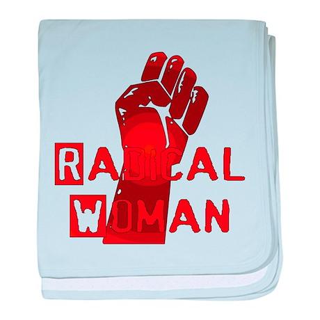 Radical Woman Infant Blanket