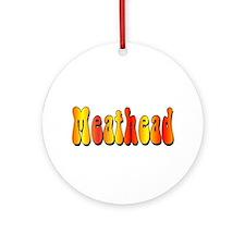 Meathead Ornament (Round)