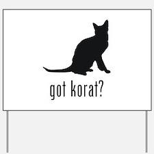 Korat Yard Sign