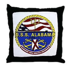 USS Alabama SSBN 731 Throw Pillow