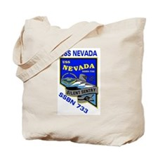 USS Nevada SSBN 733 Tote Bag
